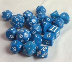 Unusual - Blue w/White (20)