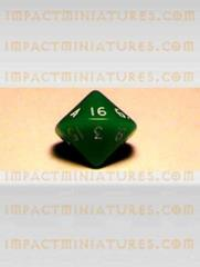 d16 Green w/White