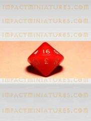 d16 Red w/White
