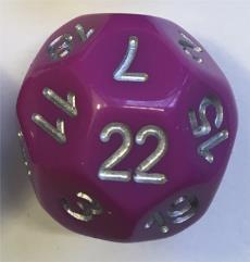 D22 Light Purple w/Silver