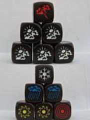 D6 Weather Dice (2)