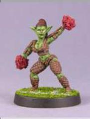 Greenskin Cheerleader #2