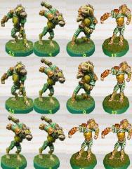Gnoll Elfball Team