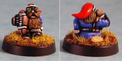 Gnome #9 - Benchwarmer