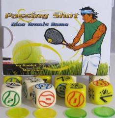Passing Shot - Tennis Dice Game