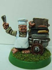 Halfling Hot Dog Vendor