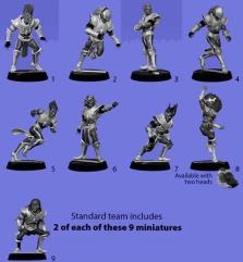 Dark Elf Metal Team