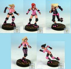 Roller Derby Team - Glamour