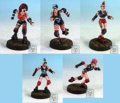 Roller Derby Team - Punk