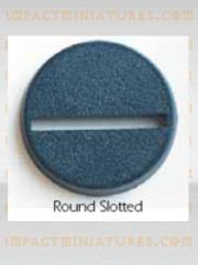 20mm Round Slotted Bases (25)