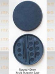 40mm Round Bases (6)