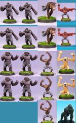 Ape Team #3 (Resin)