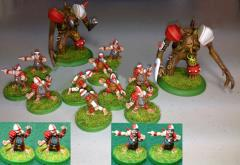 Black Army Halfling Team
