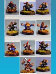 Gnome Players (Resin)