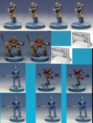 Hockey Two-Team Pack w/Nets (Resin)