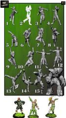 MK1881 Cabiri Wood Elf Team