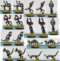 RAFM Reptiliad Team