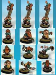 Scotling Elfball Team #1 (Resin)
