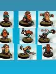 Scotling 9 Player Pack (Resin)