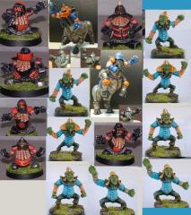 Hobgoblin Team (Resin)