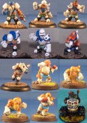 Thunder Hammer Dwarf Elfball Team
