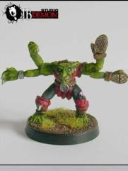 Thunderbowl 4 Armed Goblin