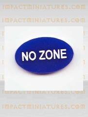 No Zone Tokens - Blue