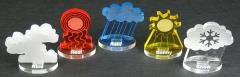 Weather Tokens (5)
