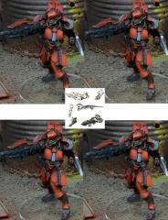 Whisper Mecha - Fire Team #4