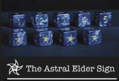 d6 Tube - Blue w/Astral (Star) Elder Sign Design (9)