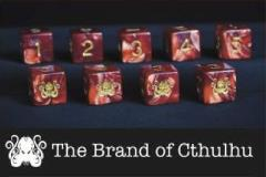 d6 Tube - Red w/Cthulhu Brand Design (9)
