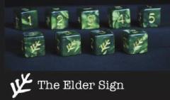 d6 Tube - Green w/Lovecraft Elder Sign Design (9)