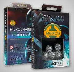 D20 Dice Set - Mercenaries (5)