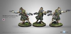 2nd Irregular Cameronians Reg. w/2 Chain Rifles (Resculpt)