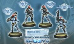 Neoterra Bolts w/Missile Launcher & Sniper Rifle
