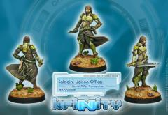Saladin - Liaison Officer w/Combi Rifle & Nanopulser