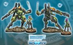 Scarface & Cordelia - Mercenary Armored Team