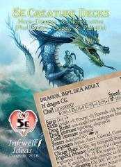 Creature Deck - More Dragons & Monstrosities