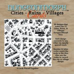 DungeonMorph Cards - Cities, Ruins, & Villages