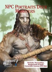 NPC Portraits Deck - Monsters
