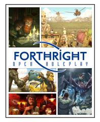 Forthright - Open Roleplay Core Rulebook