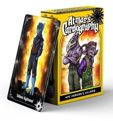 Atmar's Cardography - NPC Heroes & Villains