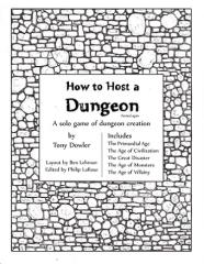 How to Host a Dungeon (Revised Edition)