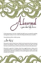 Abnormal - A Game about Body Horror
