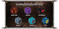 Scarred Lands Dice (6)