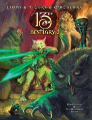 Lions & Tigers & Owlbears - Bestiary 2