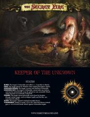 Keeper of the Unknown Master Creator Screen
