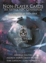 Non-Player Cards - An Artful NPC Generator