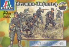 German Infantry - Panzergrenadiere