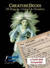 Creature Deck - Dragons, Undead, & Outsiders